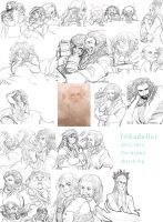 The Hobbit sketch log by ivory-dusk