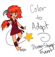 Color to adopt sheepy Sunset by mild-otaku