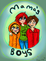 Mama's Boys by edenfire57