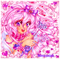 .Sparkly Personify Contest. PINK by MroczniaK