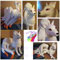 Ninetales plush second pack by chocoloverx3