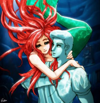 Little mermaid by Esther-Shen