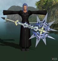 Saix with Weapon for XNALara by LexaKiness