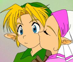 Zelink Kiss - Colored by Jeako