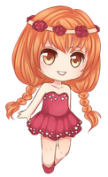 Me version Chibi by Ruru--Chan
