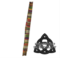 Doctor Who 4th Doctor's Scarf Papercraft2 by HellswordPapercraft