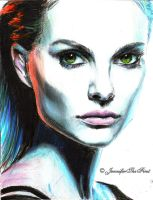 Color Natalie Portman by JenniferTheFirst