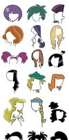 Vectored DP Hairstyles by icantunloveyou