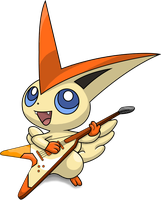 Rocking Victini (vectorized) by RockingScorpion