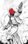 Red Hood Sketch by xashe