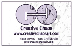 Creative Chaos Card + Logo by bicyclegasoline