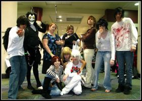 THE Death Note Group-MegaCon09 by AlouetteCosplay