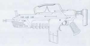 G8-ACR II rifle by rafenrazer