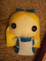 Alice Plushie by thraxbaby