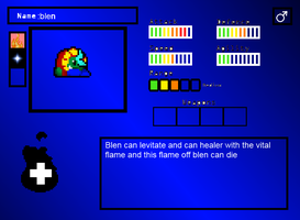 blen stats card by thekirbyclaw