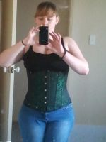 New Corset :D by Bandia13