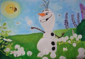 Olaf's dream by VeryaLiona