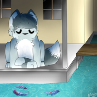 i find peace in the simplest things by littledoge