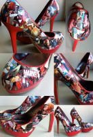 Iron Man Heels by MargotlaRue