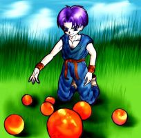 Collect The Dragonballs by omgOVER9000