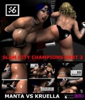 Slam City Champions - Part 3 Cover by Realms-And-Void