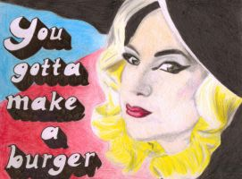 You Gotta Make A Burger. by melancholic-me