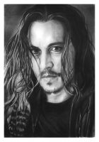 Johnny Depp by arcitenens
