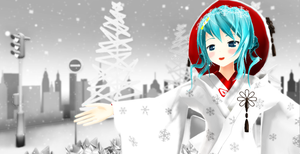 Snow miku by chocosunday