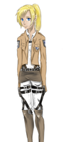 Raven--AoT OC (request) by SPAZTASTYCK