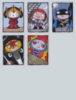 Family Guy Sketch Cards L by ElainePerna