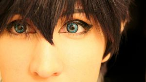 Rin Okumura ~ Eyes of a demon by OurLivingLegacy
