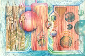 Wet Wood by farboart