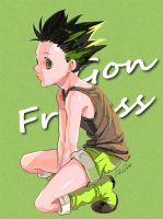 Gon Freecss by qpanopio