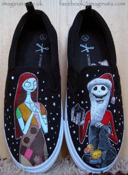 Nightmare Before Christmas Shoes - No.3 by Imaginata