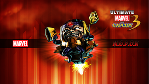 Ultimate MvC3 MODOK by CrossDominatriX5