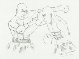 Boxing Fight by GustavoMorales