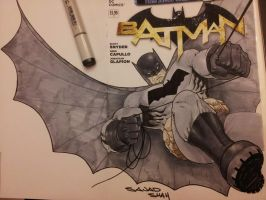 dark knight returns batman by Sajad126