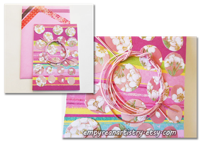 Japanese Origami Card by empyreanartistry