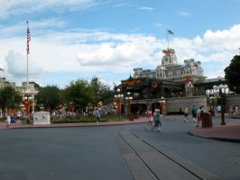 Disney World Clouds + Stuff 3 by WDWParksGal-Stock