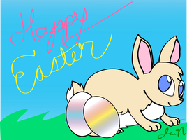Happy Easter! by MissLuckychan29