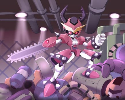 Medabot recycling center by PencilTales