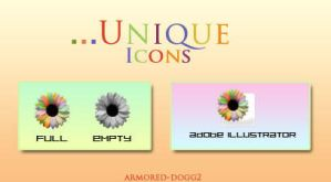 unique icons by Armored-dogg2