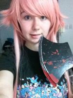 yuno cosplay wig! by KrisMadness