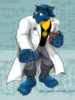 Dr. Henry McCoy, THE BEAST by PaulSizer