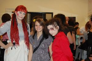 Red Riding Hood and Raggedy Ann by ColorOfConfidence