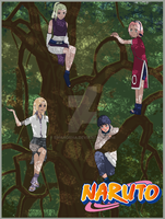 Naruto Girls by EmaNosha