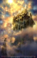 Mount Olympus by andyparkart