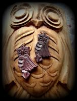 OWL PENDANTS by MassoGeppetto