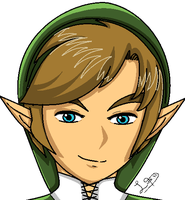 Anime Link by ZeldaGirl88