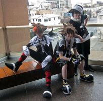 Sora Times Three by Malindachan